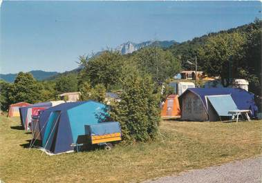 "/ CPSM FRANCE 74 ""Maxilly sur Léman, camping le clos savoyard"""