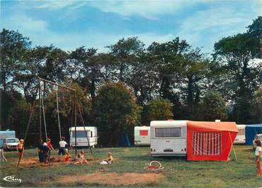 "/ CPSM FRANCE 76 ""Sassetot Le Mauconduit, le camping municipal"""