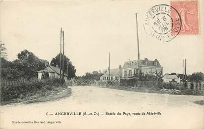 """CPA FRANCE 91 """"Angerville, Rte de Méréville"""""""