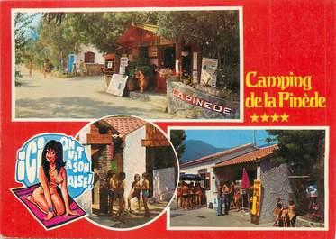 """/ CPSM FRANCE 83 """"Cavalaire, camping de la Pinède"""""""