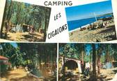 "83 Var / CPSM FRANCE 83 ""Sainte Maxime, camping les Cigalons"""