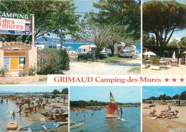 """/ CPSM FRANCE 83 """"Grimaud, camping des Mures"""""""