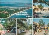 """83 Var / CPSM FRANCE 83 """"Camping de la presqu'ile de Giens"""""""