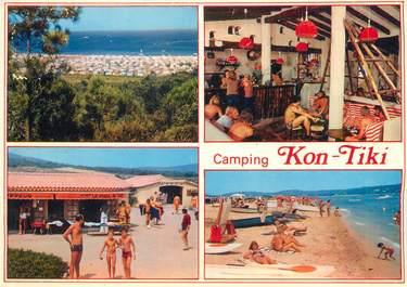 "/ CPSM FRANCE 83 ""Ramatuelle, camping Kon Tiki"""