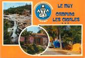 """83 Var / CPSM FRANCE 83 """"Le Muy, camping les cigales"""""""