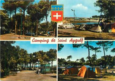 "/ CPSM FRANCE 83 ""Camping de Saint Aygulf"""