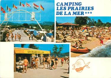 Cpsm france 83 port grimaud camping les prairies de la - Port grimaud camping les prairies de la mer ...