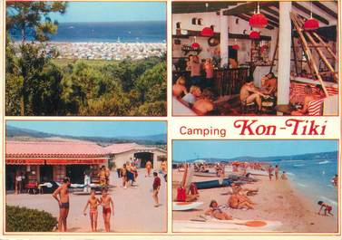 "/ CPSM FRANCE 83 ""Ramatuelle, camping Kon Tiki """