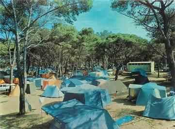"""/ CPSM FRANCE 83 """"Hyères, le camping de la Capte"""""""