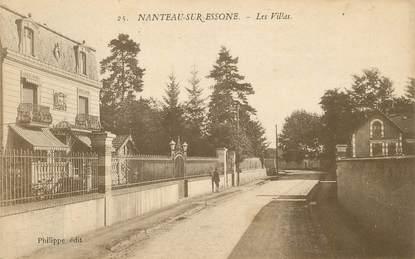 """CPA FRANCE 77 """"Nanteau sur Essonne"""""""
