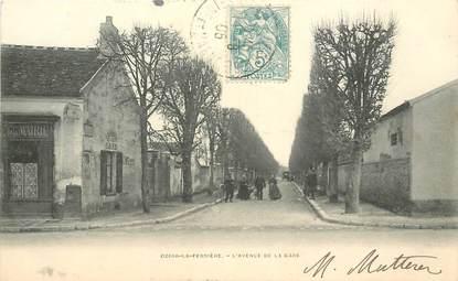 "CPA FRANCE 77 ""Ozoir la Ferrière, avenue de la gare"""