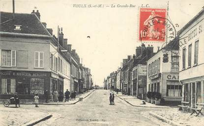 """CPA FRANCE 77 """"Voulx, la grande rue"""""""