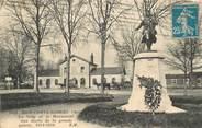 """77 Seine Et Marne CPA FRANCE 77 """"Brie Comte Robert, la gare et le monument aux morts"""""""