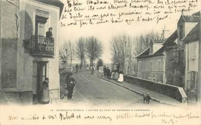 "CPA FRANCE 77 ""Germigny l'Evêque, entrée du pont vers Varreddes"""