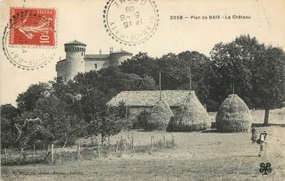 """CPA FRANCE 26 """"Plan de Baix, le Château"""""""