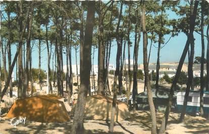 """CPSM FRANCE 85 """"Les Sables d'Olonne, camping des Roses"""""""