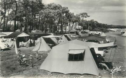 """CPSM FRANCE 85 """"Ile de Noirmoutier, camping des Sableaux"""""""