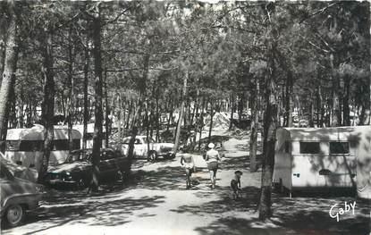 """CPSM FRANCE 85 """"La Grière La Tranche, camp du G. C. U"""" / CAMPING"""