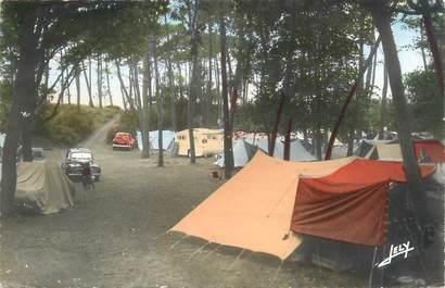 """CPSM FRANCE 85 """"Longeville sur Mer, camping en forêt"""""""
