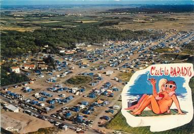 """CPSM FRANCE 85 """"Brétignolles sur Mer, le camping des Dunes"""""""