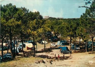 """CPSM FRANCE 85 """"Saint Jean de Monts, camping de la plage des Demoiselles"""""""