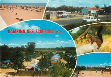 """CPSM FRANCE 85 """"Saint Hilaire de Riez, camping des écureuils """""""