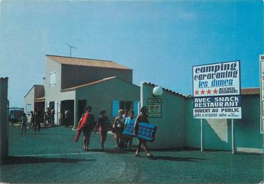 "CPSM FRANCE 85 ""Bretignolles sur Mer, camping des Dunes"""