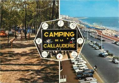 """CPSM FRANCE 85 """"Saint Jean de Monts, camping de la Caillauderie"""""""