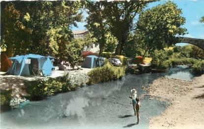 """CPSM FRANCE 13 """"Pont des Trois Sautets, camping Arc en Ciel"""""""
