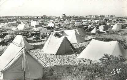 """CPSM FRANCE 62 """"Le Touquet Paris Plage, camping de la Canche"""""""