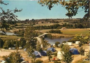 """CPSM FRANCE 87 """"Bujaleuf, le camping et le plan d'eau"""""""