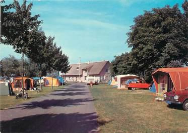 """CPSM FRANCE 71 """"Autun, le terrain de camping"""""""