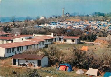 """CPSM FRANCE 71 """"Taizé, centre de retraite et village de tentes"""" / CAMPING"""