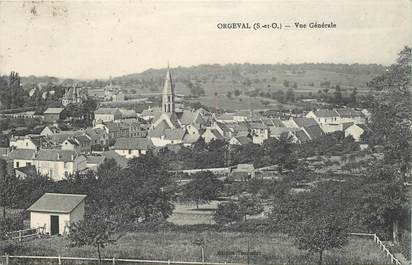 Cpa france 78 orgeval 78 yvelines orgeval 78 ref for Agrandissement maison houilles