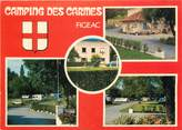 "46 Lot CPSM FRANCE 46 ""Figeac, camping des Carmes"""