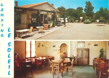 "CPSM FRANCE 13 ""Saint Chamas, camping Le Soleil"""