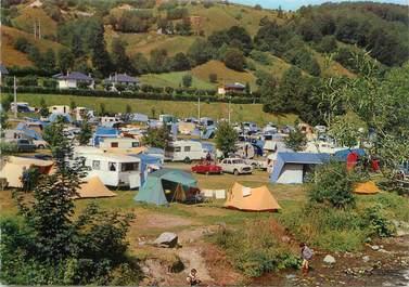 """CPSM FRANCE 63 """"Le Mont Dore, le terrain de camping"""""""