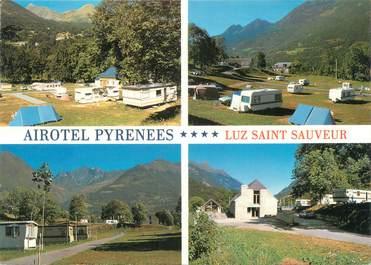 """CPSM FRANCE 65 """"Luz Saint Sauveur, airhôtel Pyrénées"""" / CAMPING"""