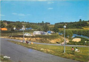 """CPSM FRANCE 87 """"Saint Yrieix La Perche, camping d'Arfeuille"""""""