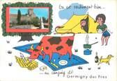 """45 Loiret CPSM FRANCE 45 """"Germigny Des Prés"""" / CAMPING"""