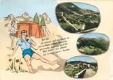 """31 Haute Garonne CPSM FRANCE 31 """"Col de Portet d'Aspet"""" / CAMPING"""