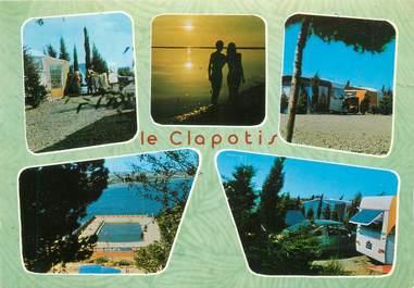 """CPSM FRANCE 11 """"Lapalme, camping le Clapotis"""""""