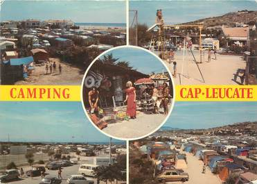 """CPSM FRANCE 11 """"Leucate, camping"""""""