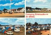 """35 Ille Et Vilaine CPSM FRANCE 35 """"Saint Briac sur Mer, camping Emeraude"""""""