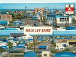 """59 Nord CPSM FRANCE 59 """"Malo Les Bains, le camping"""""""