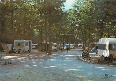 """CPSM FRANCE 72 """"Sillé Le Guillaume, terrain de camping"""""""