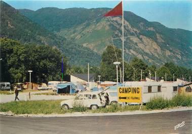 "CPSM FRANCE 09 ""Savignac, camping de Fournil"""
