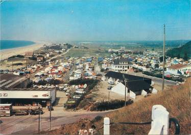 "CPSM FRANCE 50 ""Donville Les Bains, le camping"""