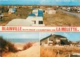 """50 Manche CPSM FRANCE 50 """"Blainville sur Mer, camping de le Melette"""""""