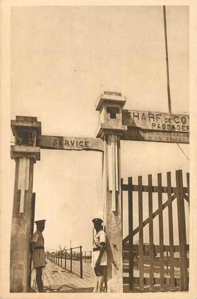 """CPA BÉNIN """"Cotonou, l'entrée du Wharf""""/ N° 23"""